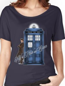 Doctor Who - All of Time and Space T-shirt Women's Relaxed Fit T-Shirt