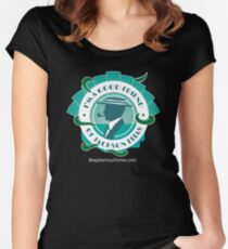 Good Friends of Jackson Elias (2) Women's Fitted Scoop T-Shirt