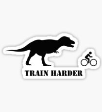 T-Rex Bike Training Sticker