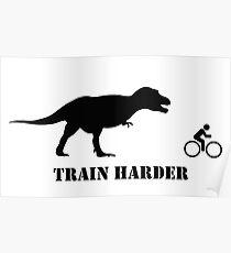 T-Rex Bike Training Poster