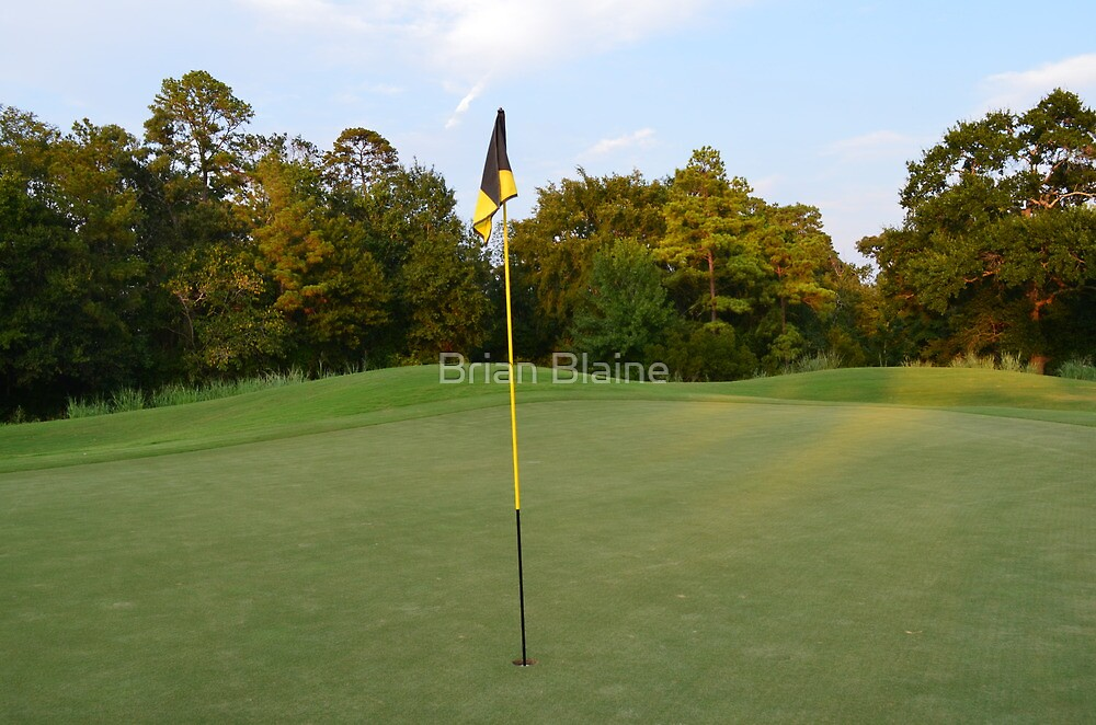 Putting Green by Brian Blaine