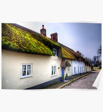 Tolpuddle Cottages Poster