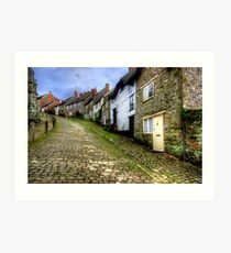 Gold Hill Art Print