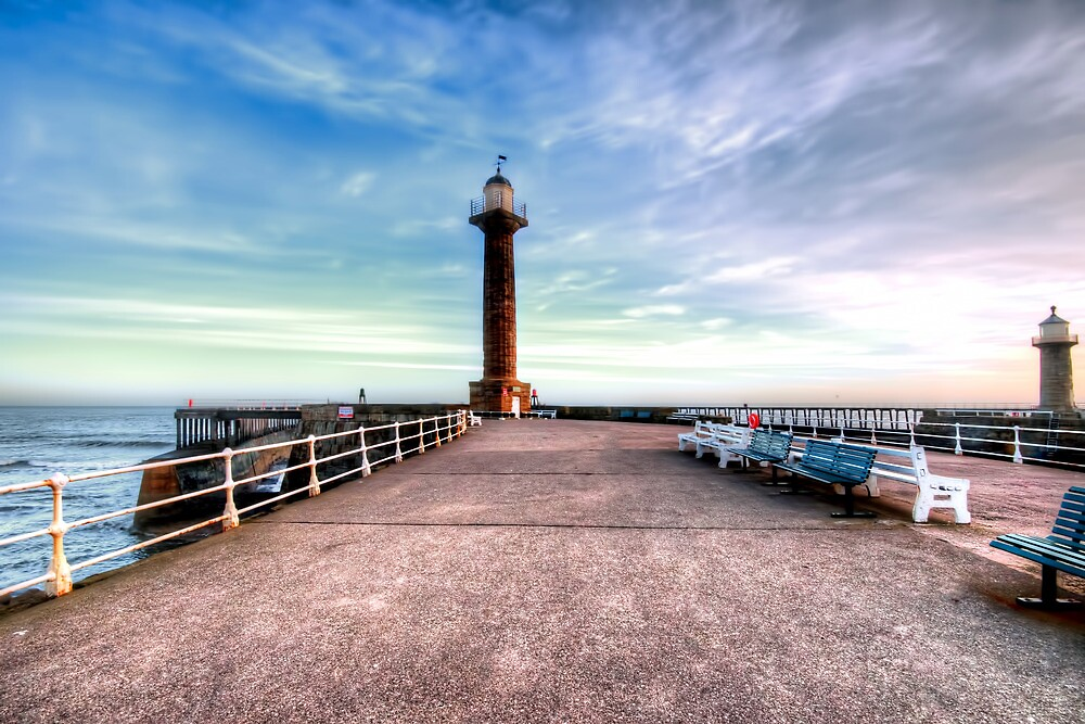 Whitby Pier by Stephen Smith