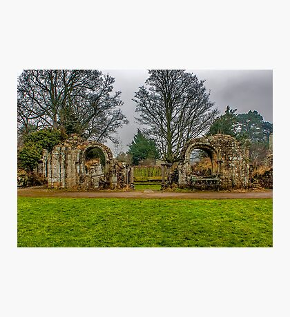 Jervaulx Abbey Ruins Photographic Print