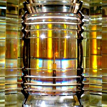 Fresnel Lens of a Lighthouse by angel1