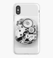 Clockwork - Macroview iPhone Case/Skin