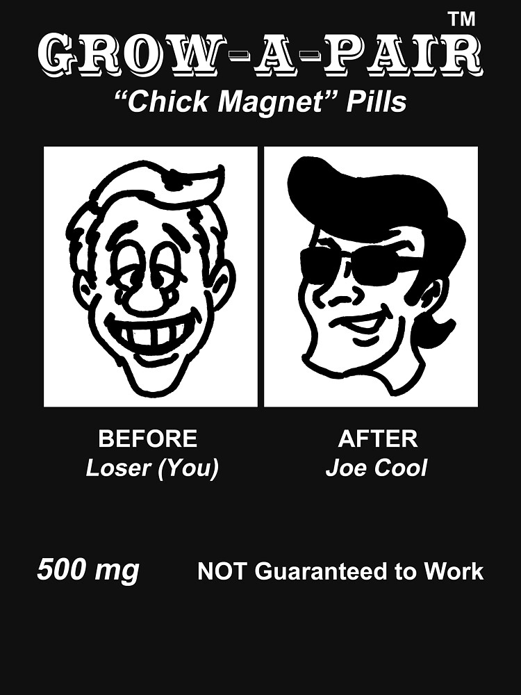 Grow-A-Pair (Chick Magnet Pills) by oddmetersam