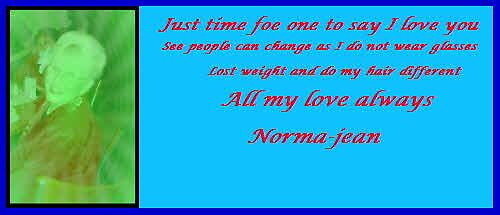"""""""ONE OF MY CHANGE OVER' by Norma-jean Morrison"""