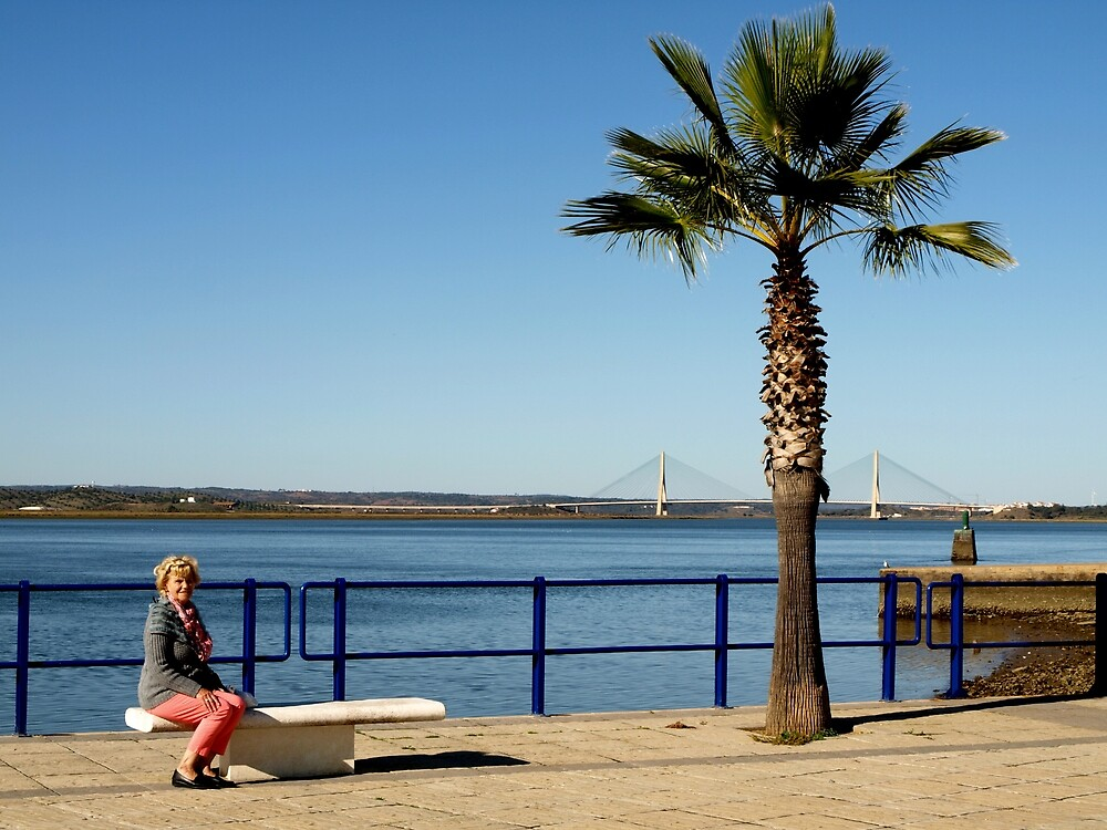 Wating for the Ferry by Janone