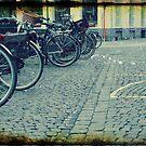 Retro Bikes by Alison Johnson