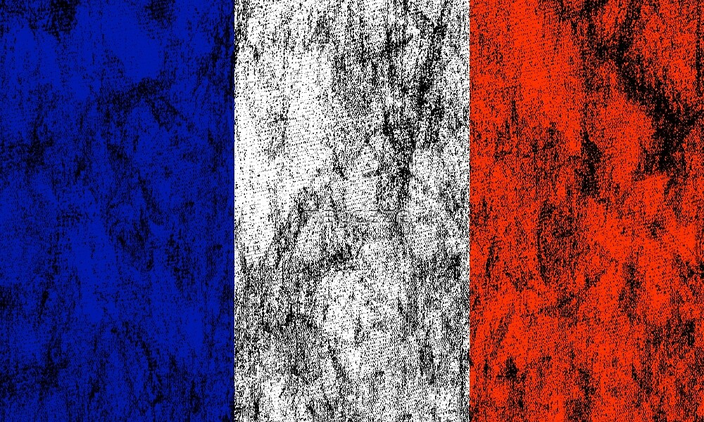french flag by maydaze