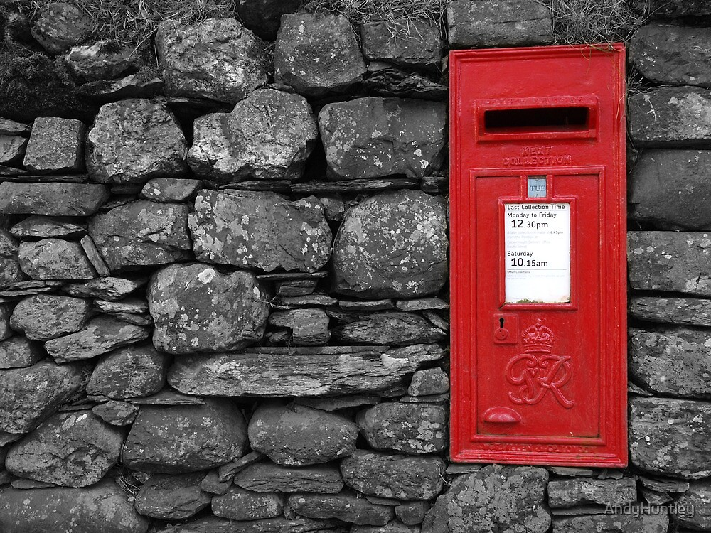 Post Box by AndyHuntley