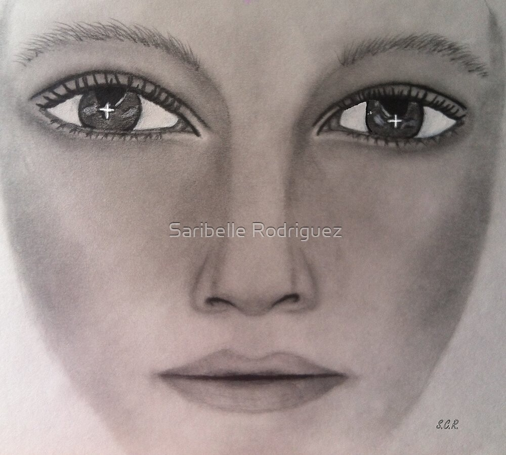 For God Alone Drawing By Saribelle Rodriguez by Saribelle Rodriguez