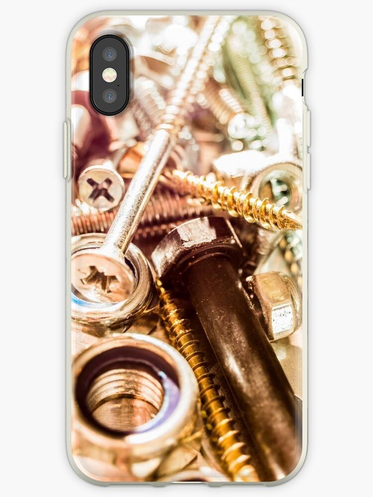 Construction worker hardware phone by Steve Björklund