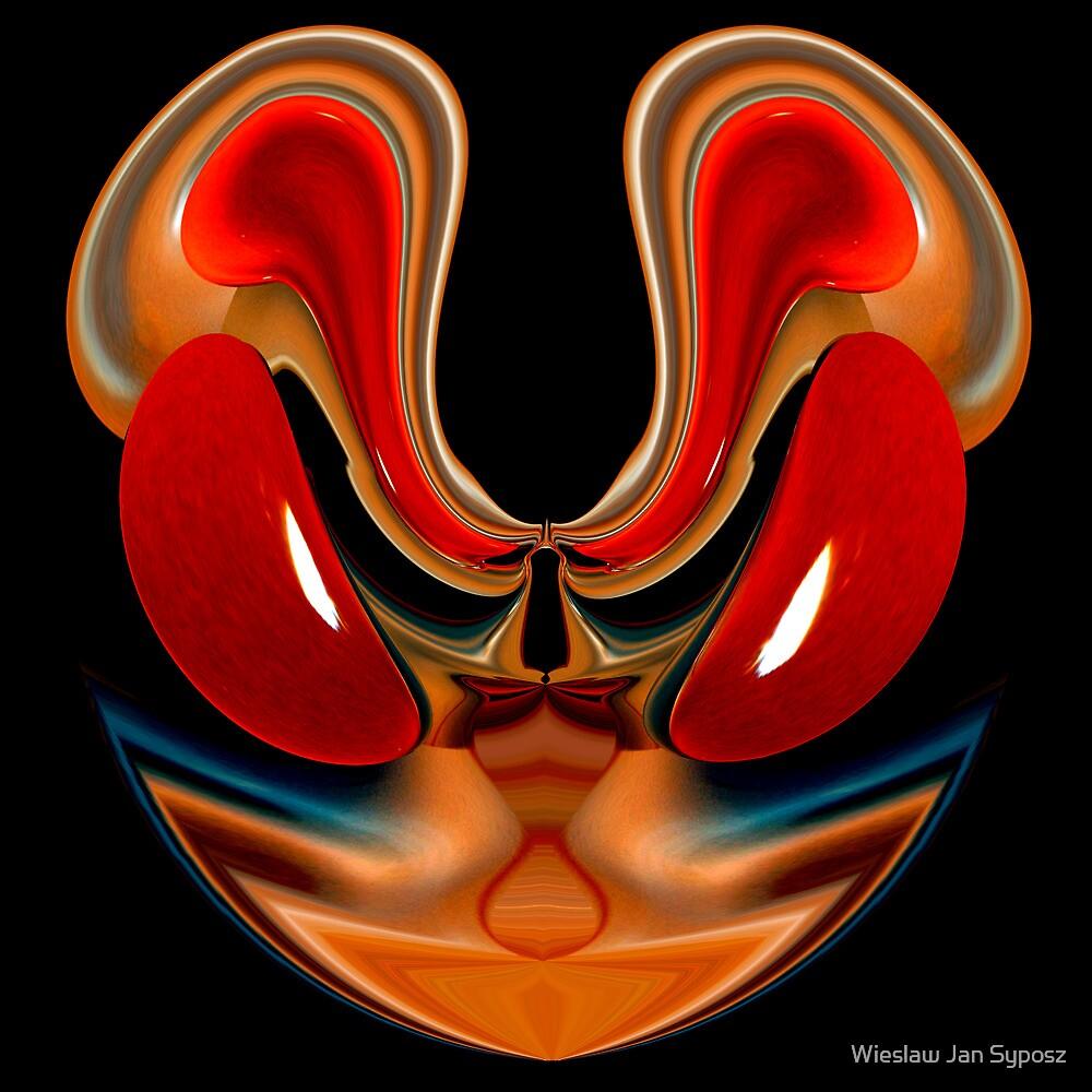 mostly red 6 by Wieslaw Jan Syposz