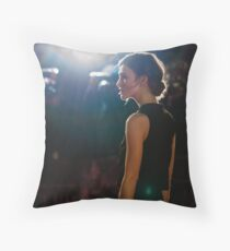 Keira Knightley Throw Pillow