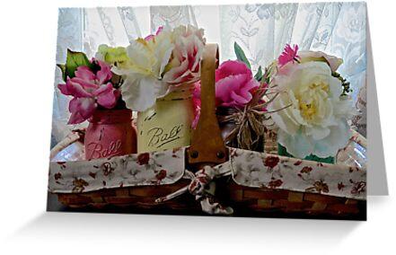 Flower Basket by Judith Cormeny