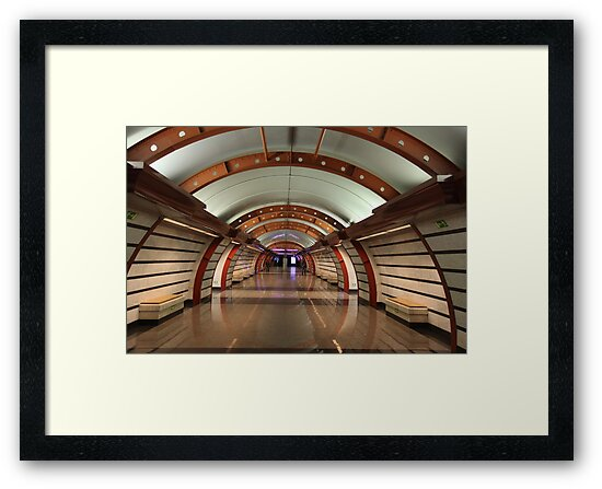 interior subway station by mrivserg