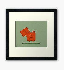 Squarrel Framed Print