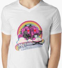 Mein kleiner Dreadnought T-Shirt mit V-Ausschnitt für Männer