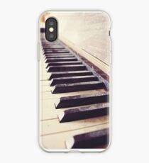 Vintage piano iPhone Case