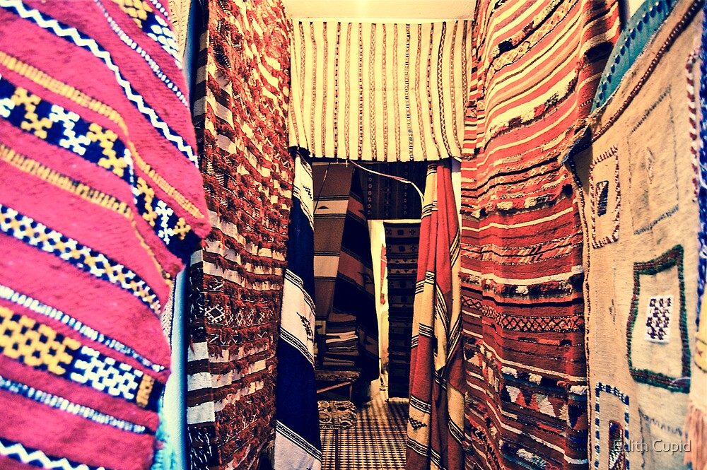 SHOP OF TYPICAL MOROCCAN CARPETS!!! Morocco   by Beatrice Cupido