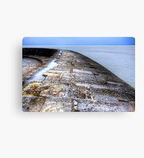 Lyme Regis Cob Canvas Print