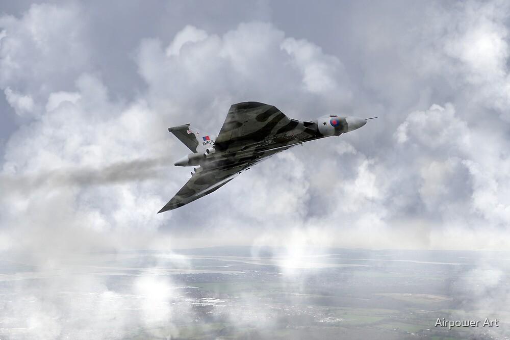 Vulcan Soar by Airpower Art