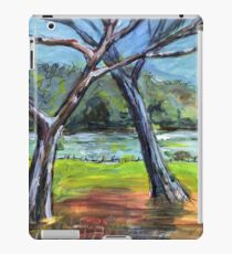 Sketching Trees iPad Case/Skin