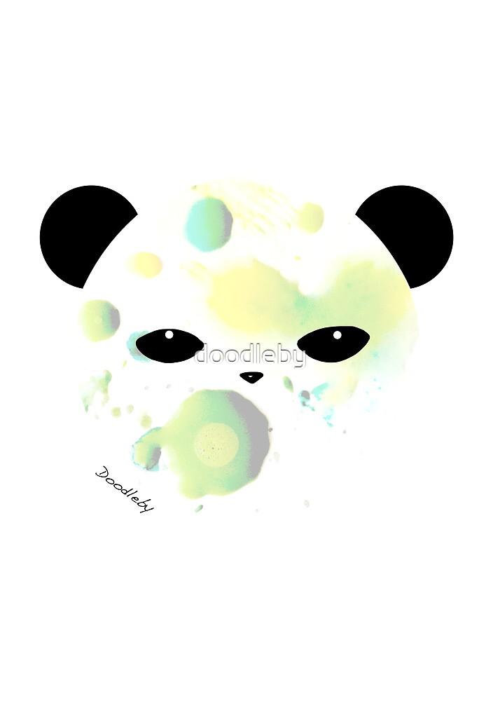 Panda Splat by doodleby