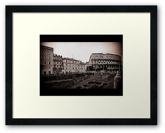 Rome, the Flavian Amphitheatre by orsinico