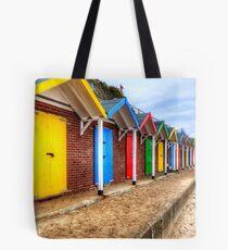 Swanage Beach Huts Tote Bag