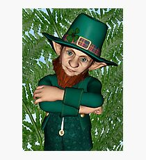 Leprechaun Photographic Print