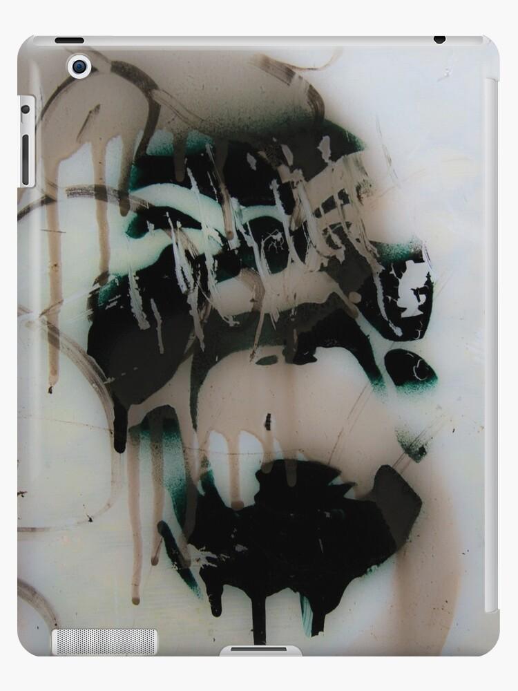 Graffiti art on window 2 by Steve Björklund
