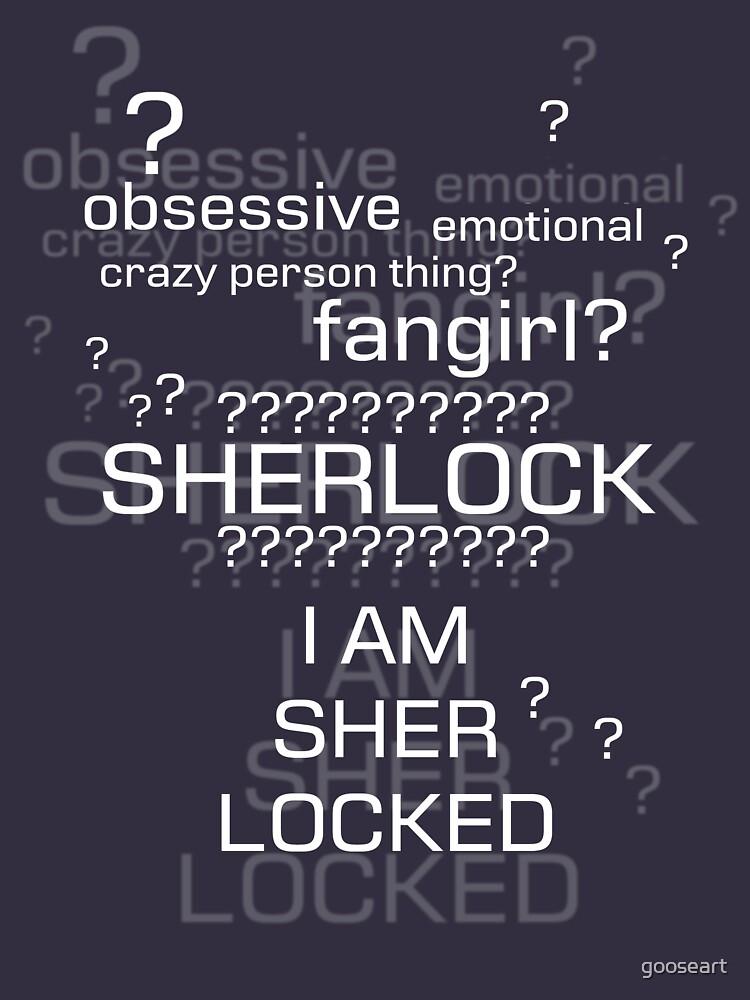 Drunk Sherlock Fangirl by gooseart