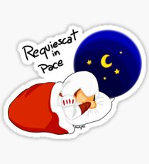 Requiescat In Pace Sticker