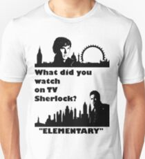 Sherlock meets Elementary  T-Shirt