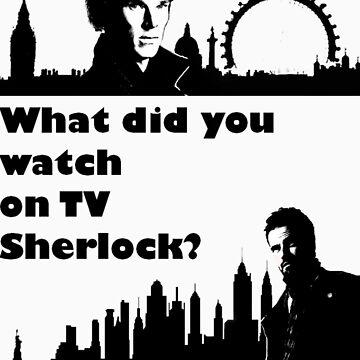 Sherlock meets Elementary  by MnRMnR