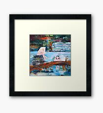 PERMANENT VACATION Framed Print