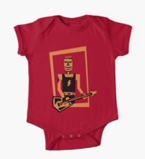 hard rock / heavy metal  guitar player One Piece - Short Sleeve