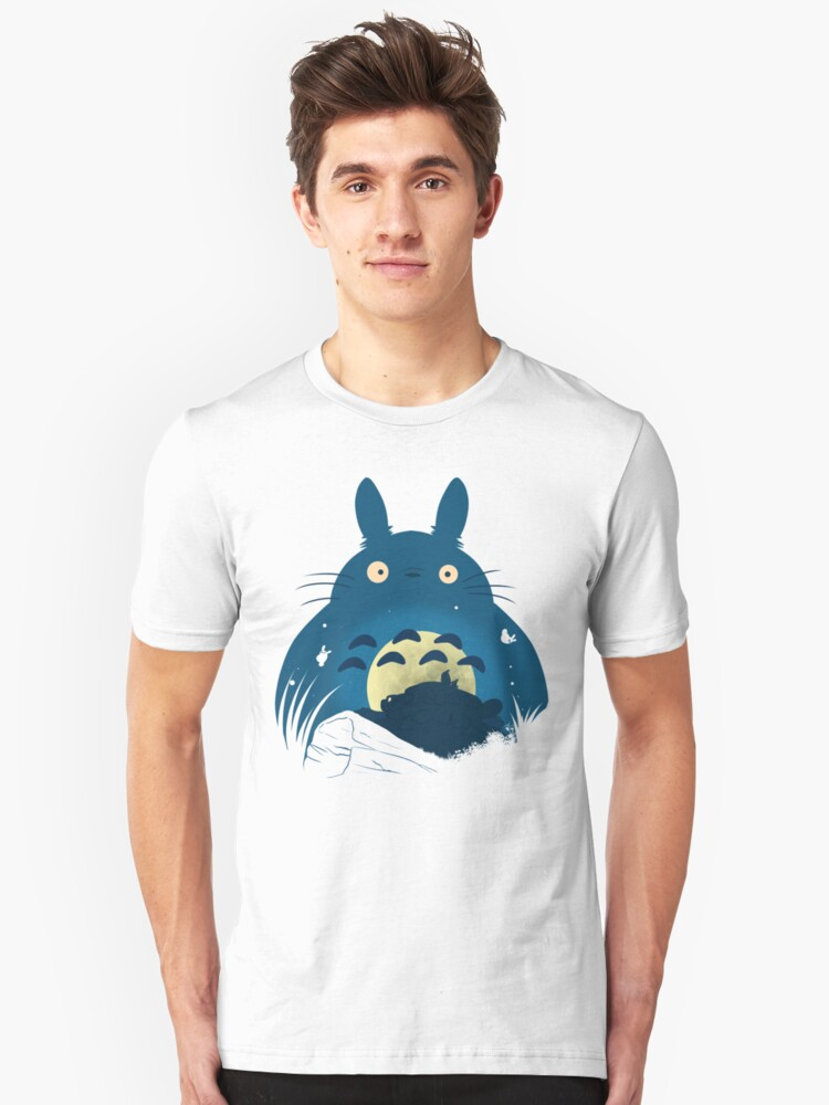 Under the Totoro sky Unisex T-Shirt Front