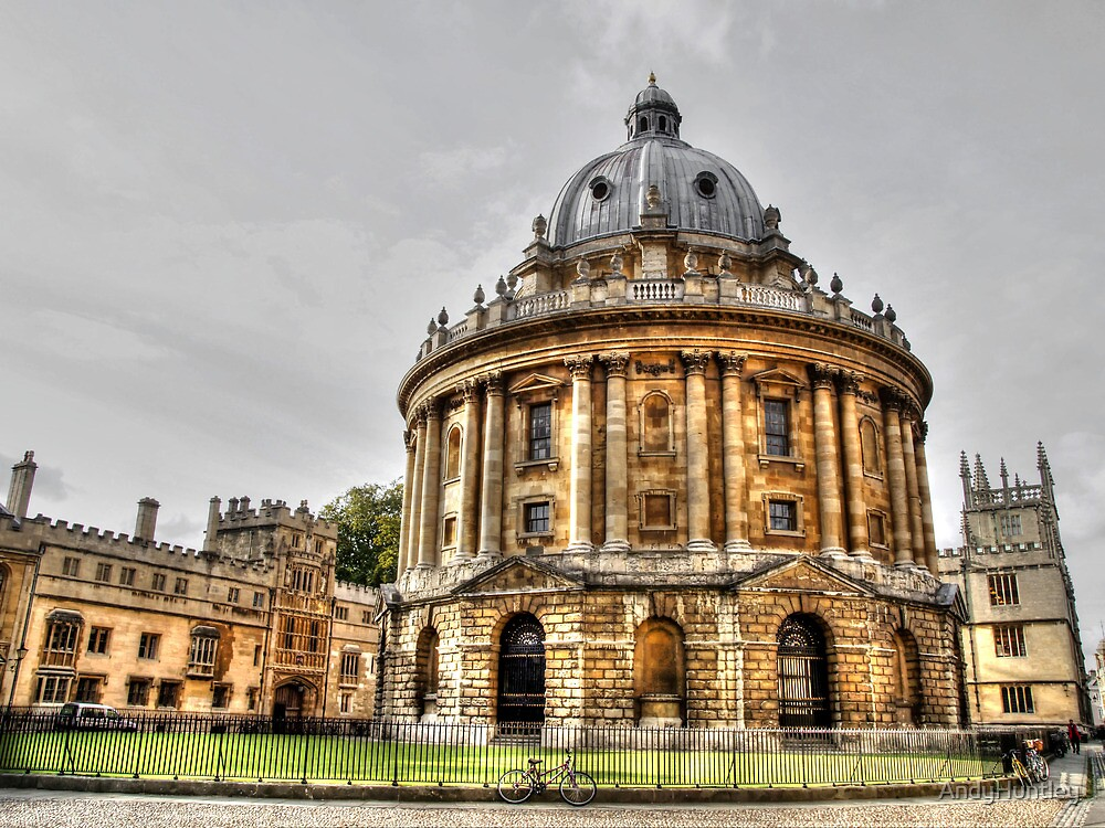Bodleian Library Oxford by AndyHuntley