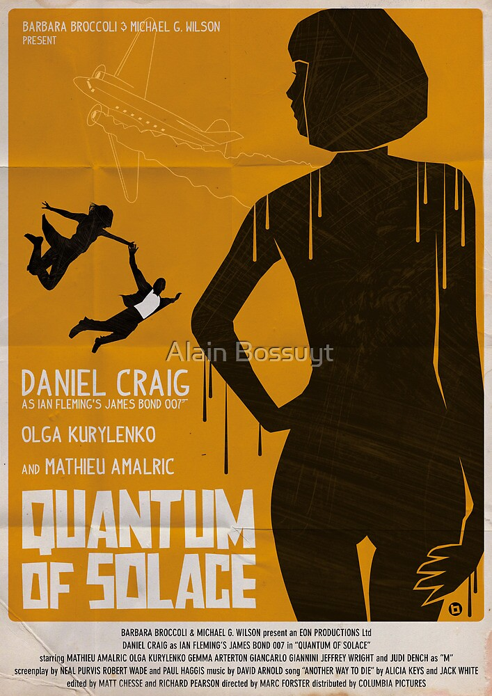 QUANTUM OF SOLACE by Alain Bossuyt
