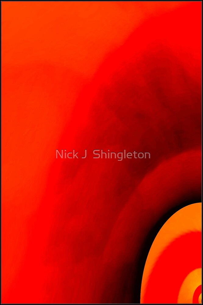 Feeling hot! by Nick J  Shingleton