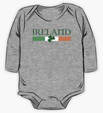 Ireland Flag, shamrock One Piece - Long Sleeve