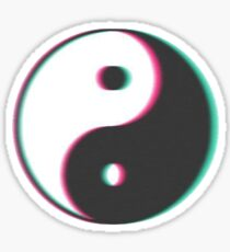 Yin Yang Faded Sticker
