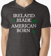 Ireland Made, American Born Men's V-Neck T-Shirt