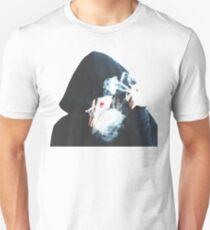 girl with hoodie smoking weed T-Shirt