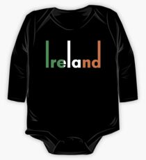 Ireland pop art One Piece - Long Sleeve